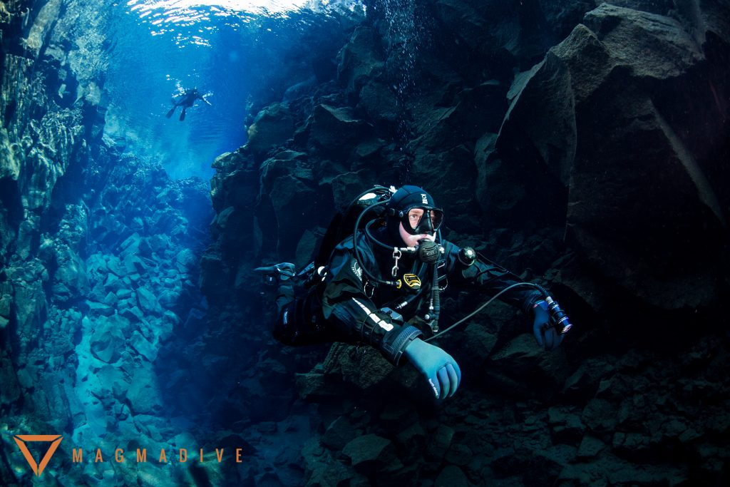 Diving and snorkeling in Silfra Iceland