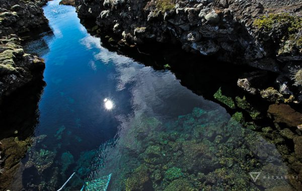Silfra - on of the top dive sites in Iceland.