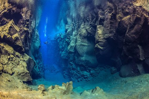 Silfra is one of the top 10 dive sites in the world.