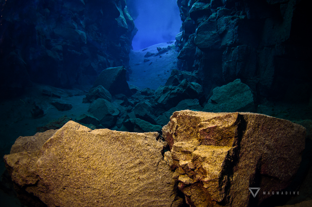 The Silfra Dive Site in Iceland